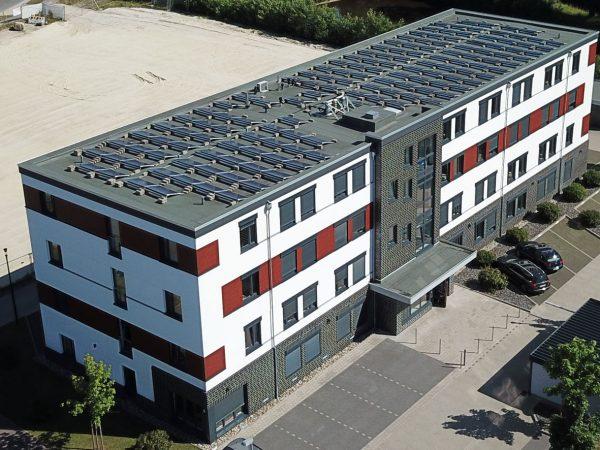 Im Technologiepark 4, Oldenburg, Luftbildaufnahme